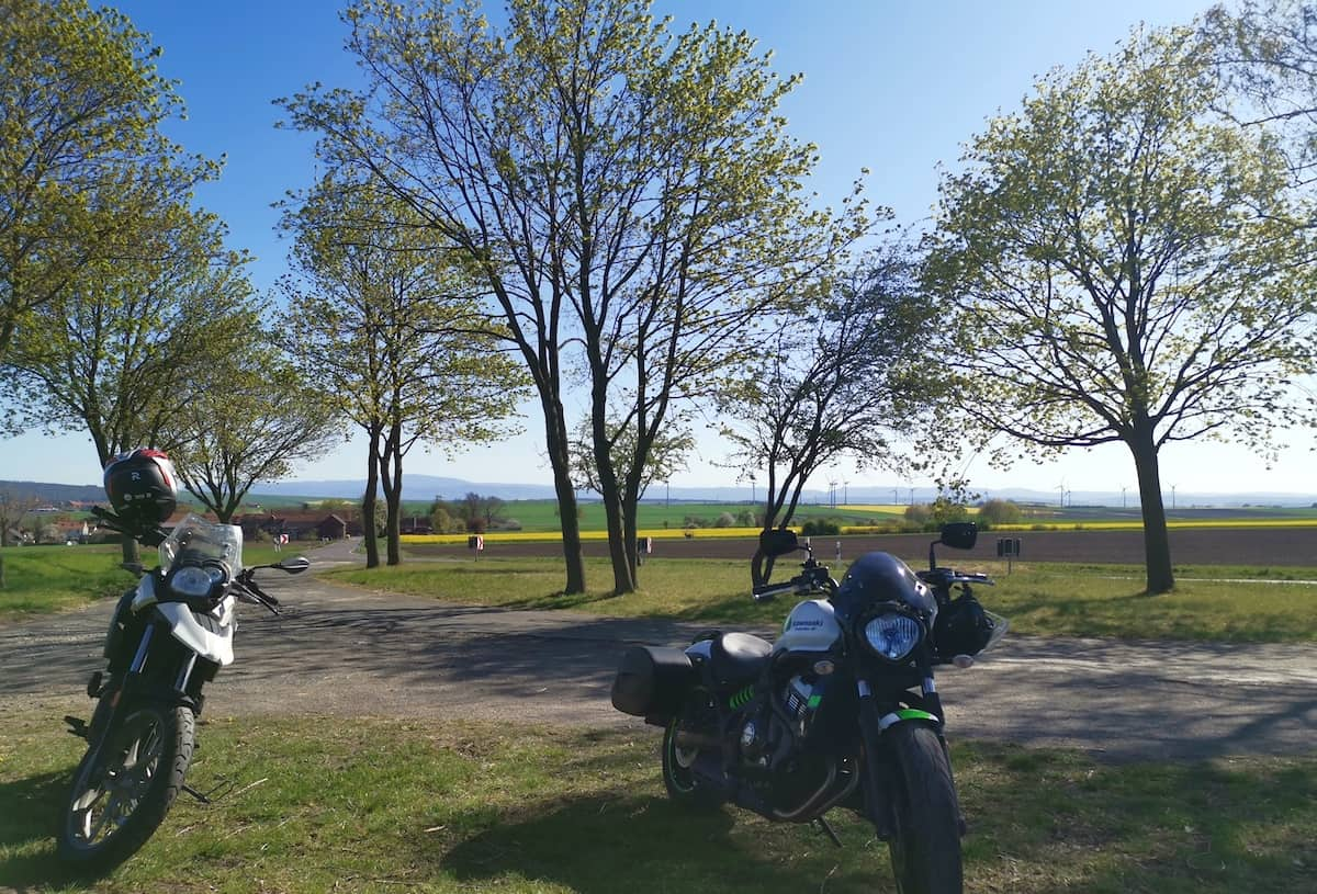 Niedersachsen: Motorradtour im nördlichen Harzvorland. Foto: Beate Ziehres