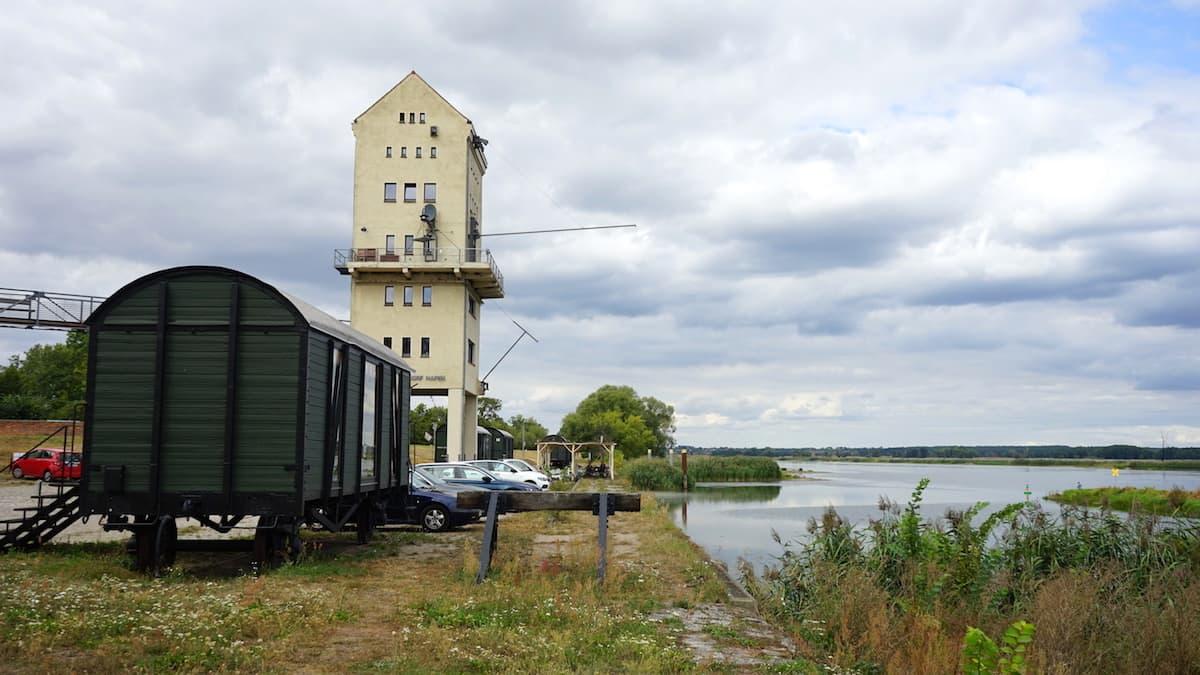 Oderbruch, Kulturhafen Groß Neuendorf. Foto: Beate Ziehres