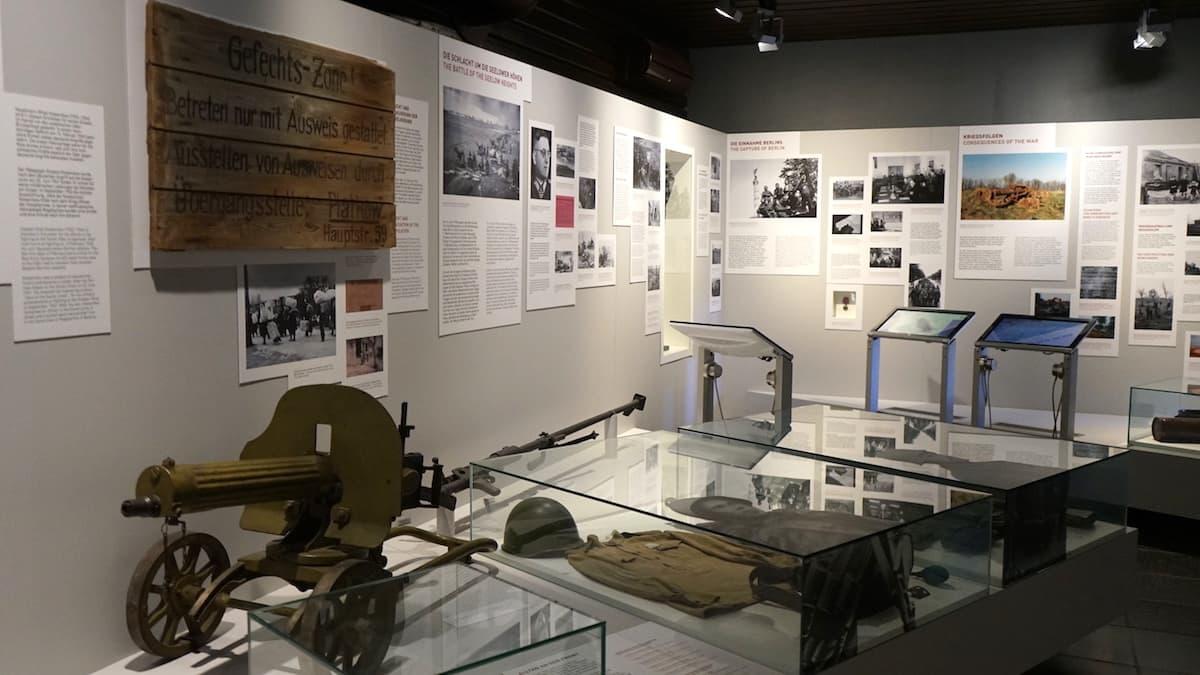 Oderbruch, Seelower Höhen, Ausstellung im Museum. Foto: Beate Ziehres
