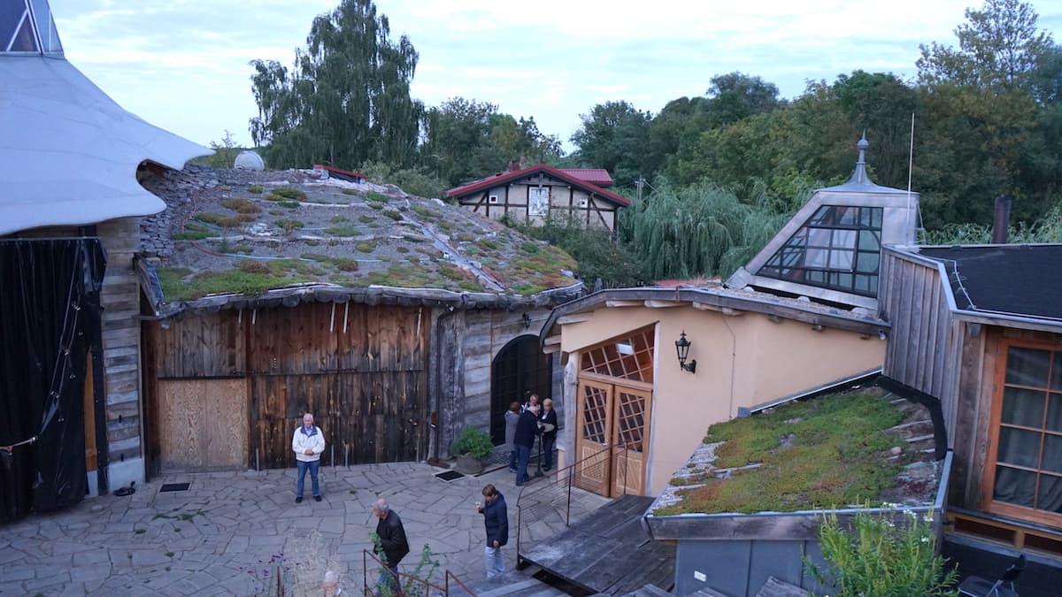 Oderbruch, Theater am Rand, Zollbrücke. Foto: Beate Ziehres