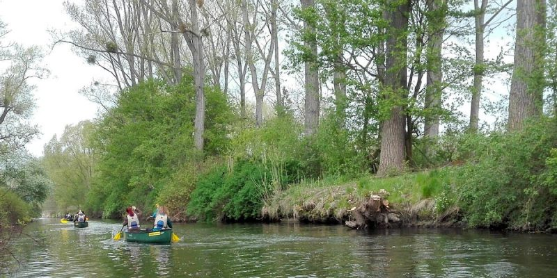 Oker-Tour mit dem Kanu