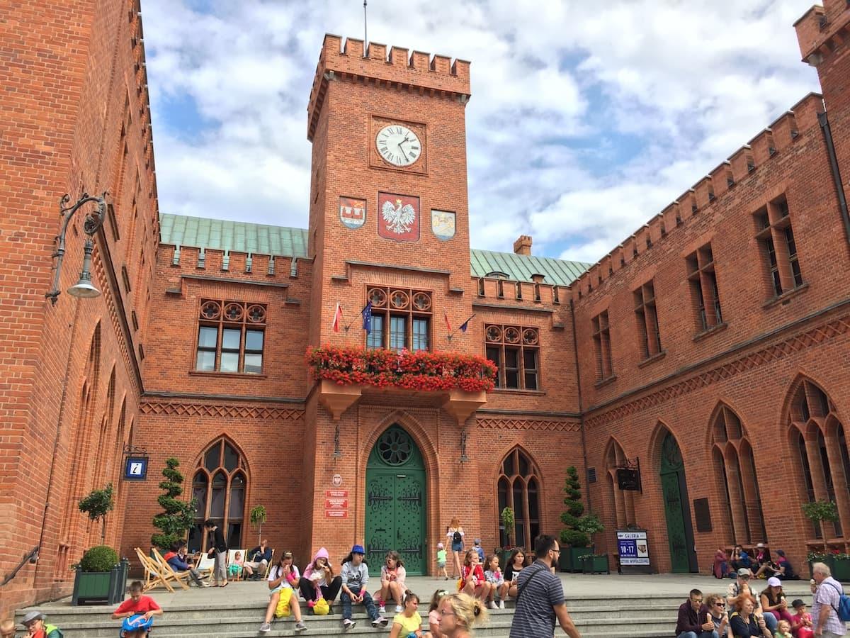 Polen, Kolobrzeg, Rathaus. Foto: Beate Ziehres