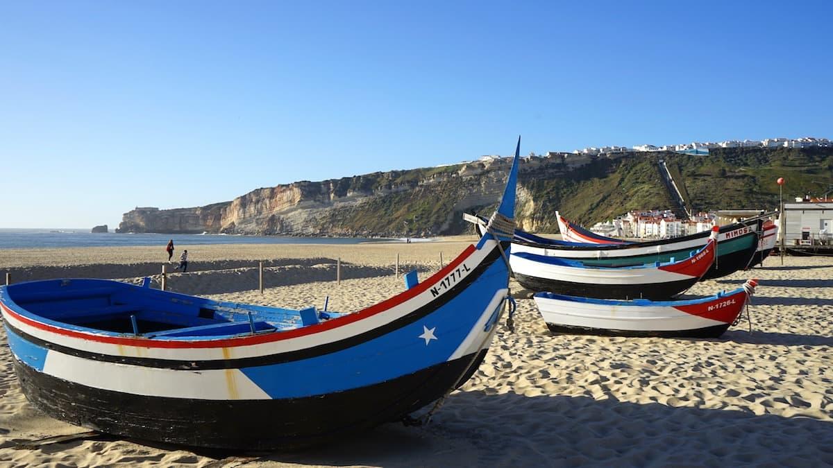 Nazaré, Portugal. Foto: Beate Ziehres