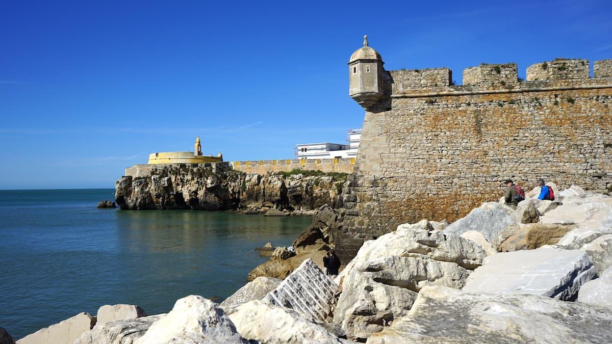 Portugal, Peniche, Festung am Meer. Foto: Beate Ziehres