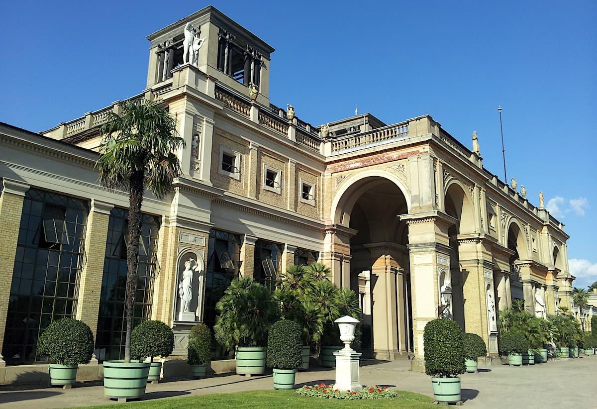 Potsdam, Sanssouci, Orangerieschloss. Foto: Beate Ziehres
