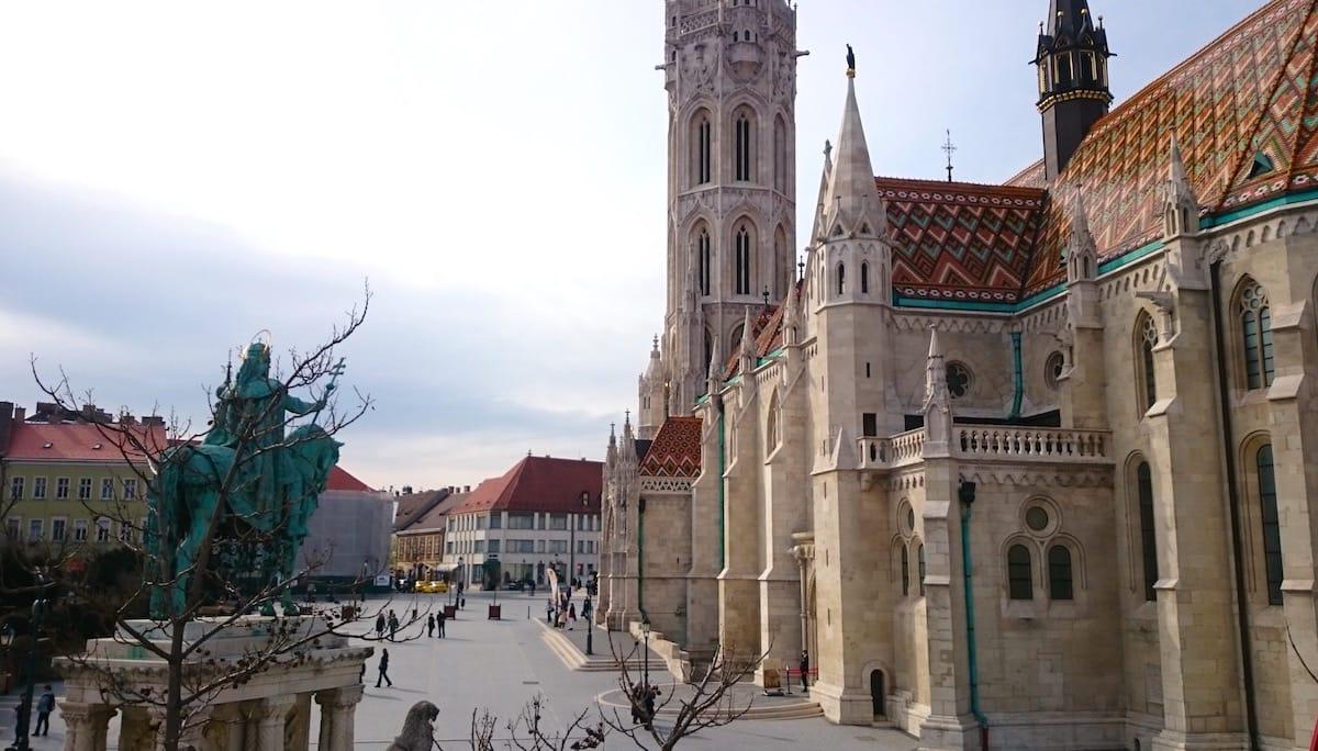 Sehenswürdigkeit in Budapest: die Matthiaskirche – Foto: Lena Ziehres