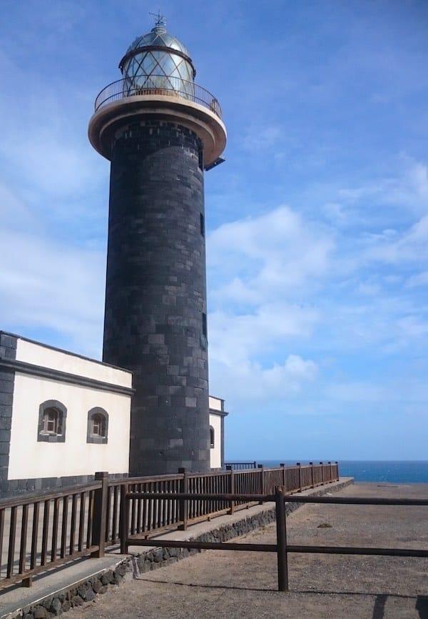 Leuchtturm an der Südspitze Fuerteventuras– Foto: Lena Ziehres