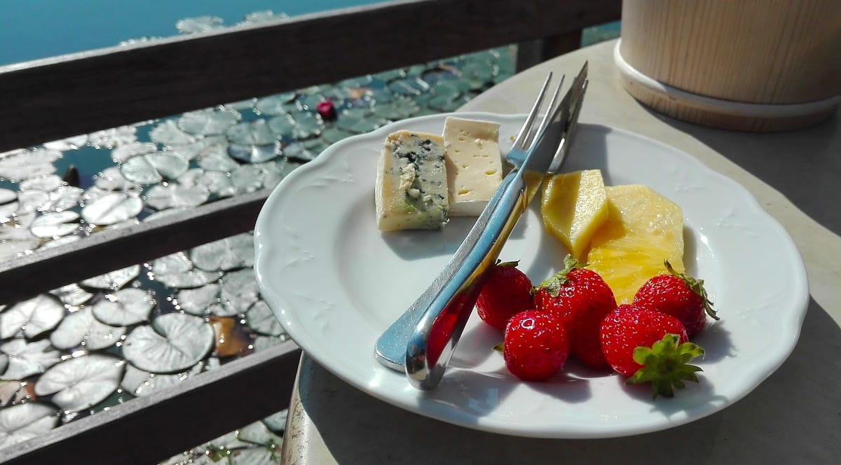 Frühstück am Breiten Luzin, Mecklenburg-Vorpommern – Foto: Beate Ziehres