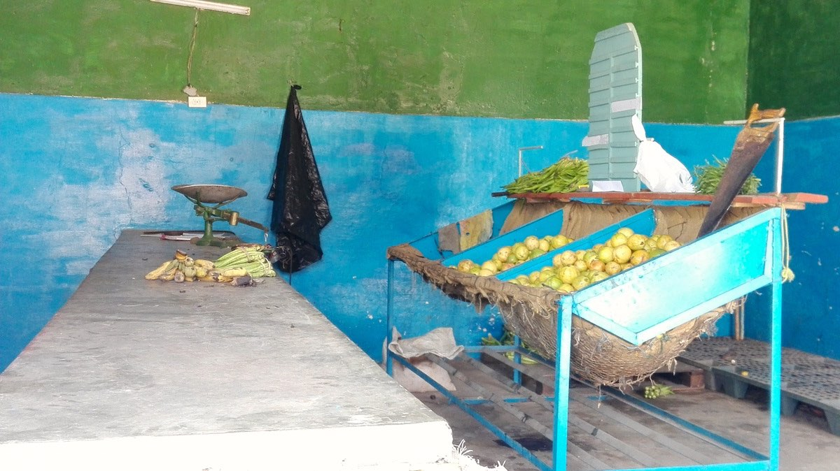 Blick in einen Obst- und Gemüseladen in Trinidad, Kuba – Foto: Beate Ziehres
