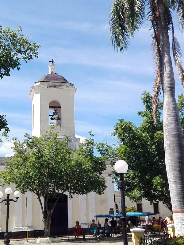Trinidad, Kuba: Kirche San Francisco de Paula an der Plaza Carillo – Foto: Beate Ziehres
