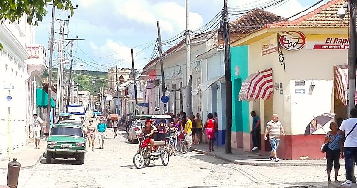 Trinidad, Kuba: die vergleichsweise lebhafte Calle San Procopio – Foto: Beate Ziehres