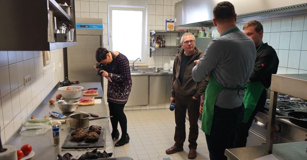 Presserummel in der Küche – Foto: Beate Ziehres