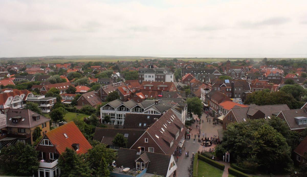 Langeoog: Tolle Aussicht vom Wasserturm – Foto: Lena Ziehres