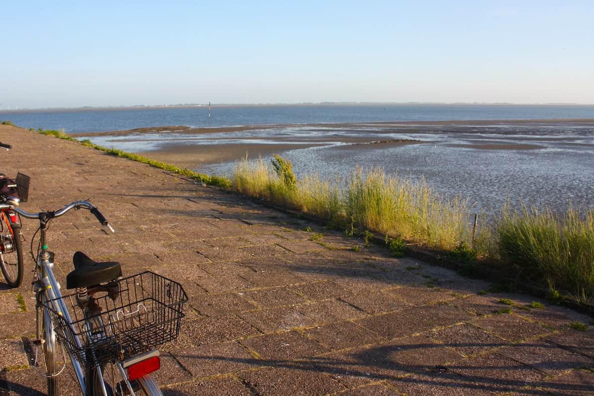 Mit dem Fahrrad unterwegs auf Langeoog – Foto: Lena Ziehres