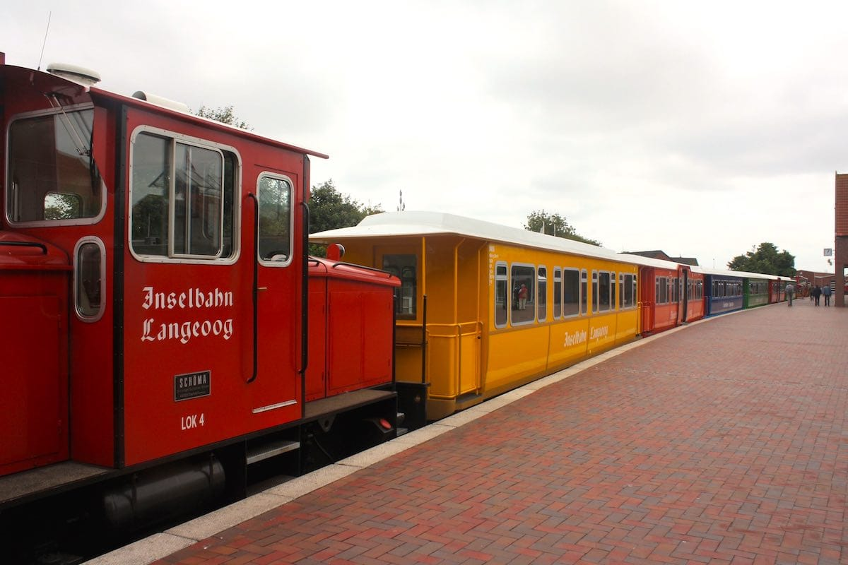 Die Inselbahn von Langeoog – Foto: Lena Ziehres