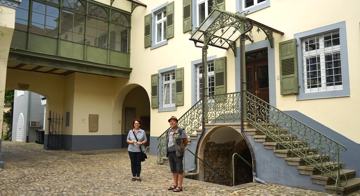 Reiselust-Mag: Blankenhorn Palais in Müllheim mit Wintergarten (links oben im Bild) – Foto: Beate Ziehres