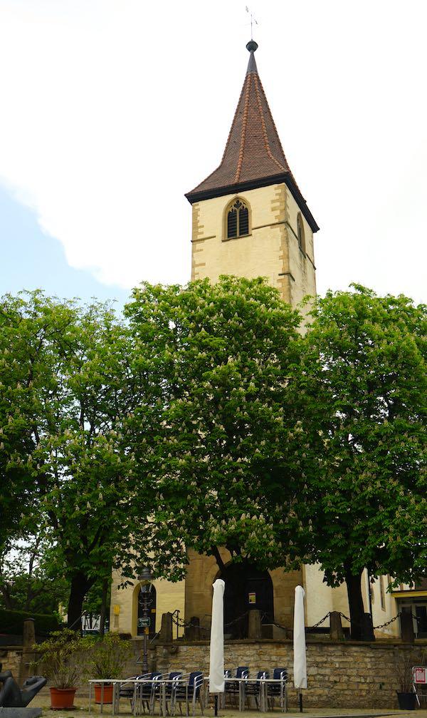 Die Martinskirche in Müllheim – Foto: Beate Ziehres