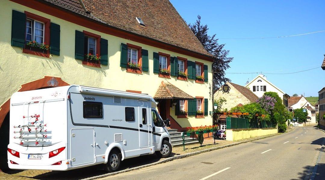 Wohnmobil und Wein – eine Reise ins Markgräflerland #1: Müllheim