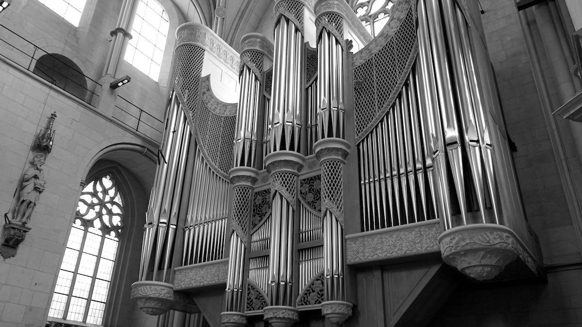Die Hauptorgel des St.-Paulus-Doms in Münster, Nordrhein-Westfalen – Foto: Beate Ziehres