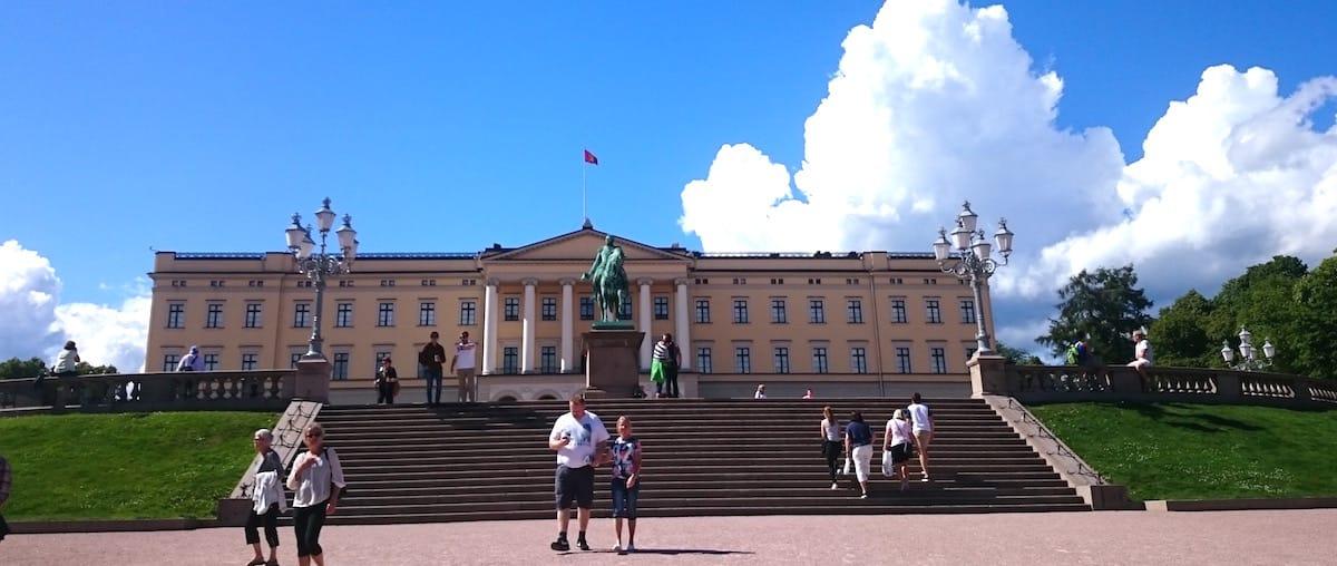Das königliche Schloss in Oslo – Foto: Lena Ziehres