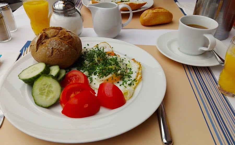Mein Frühstück im Precise Resort Rügen – Foto: Beate Ziehres