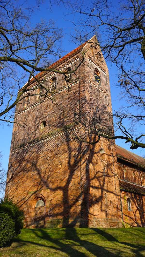 Reiselust-Mag: Schönhausen: Westwerk der Kirche St. Marien & Willebrord – Foto: Beate Ziehres