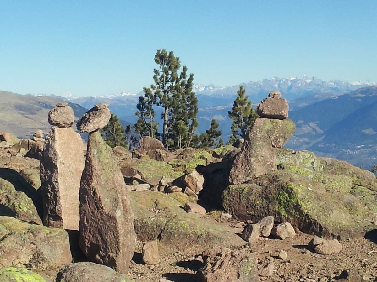 Südtirol: Blick vom sonnigen Rittner Horn nach Norden – Foto: Beate Ziehres