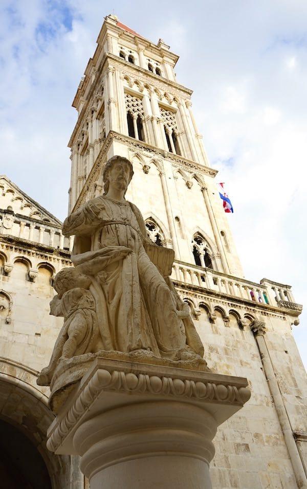 Reiselust-Mag: Trogir, St. Laurentius-Kathedrale. Foto: Beate Ziehres
