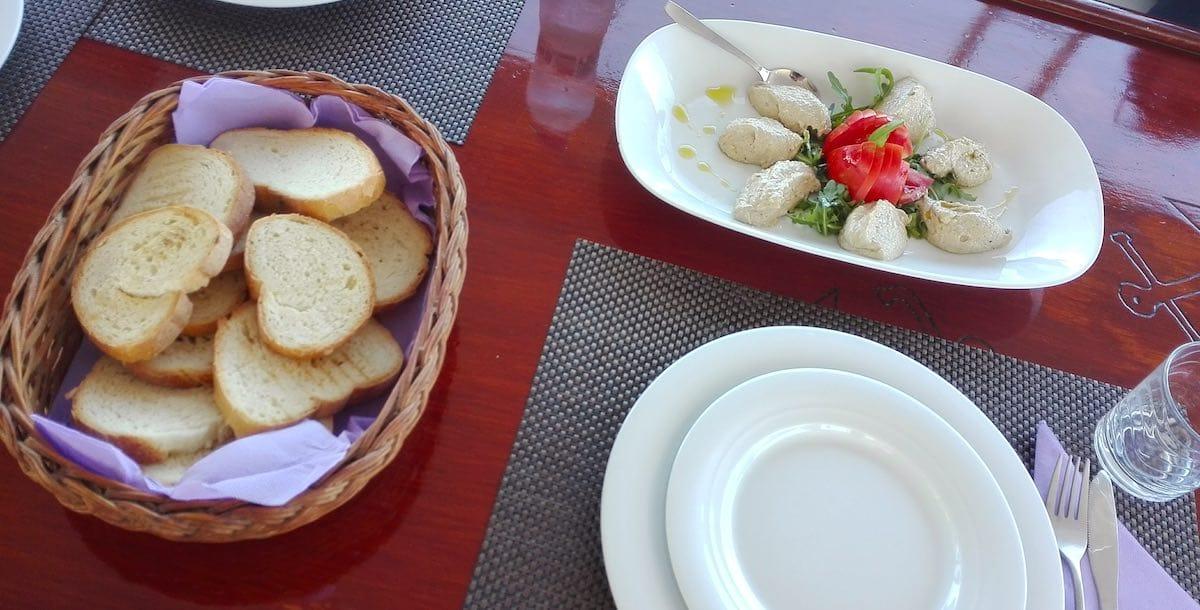 Vorspeise auf dem Gulet Gardelin – Foto: Beate Ziehres