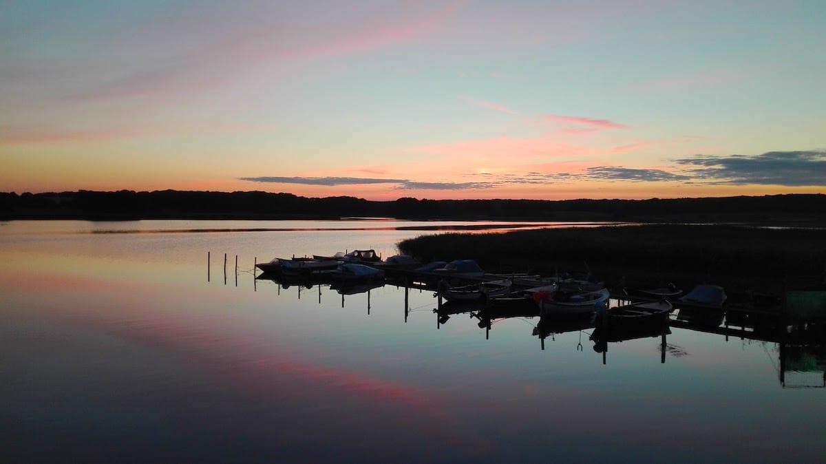 Abendstimmung am Wreechener See auf Rügen, Mecklenburg-Vorpommern – Foto: Beate Ziehres