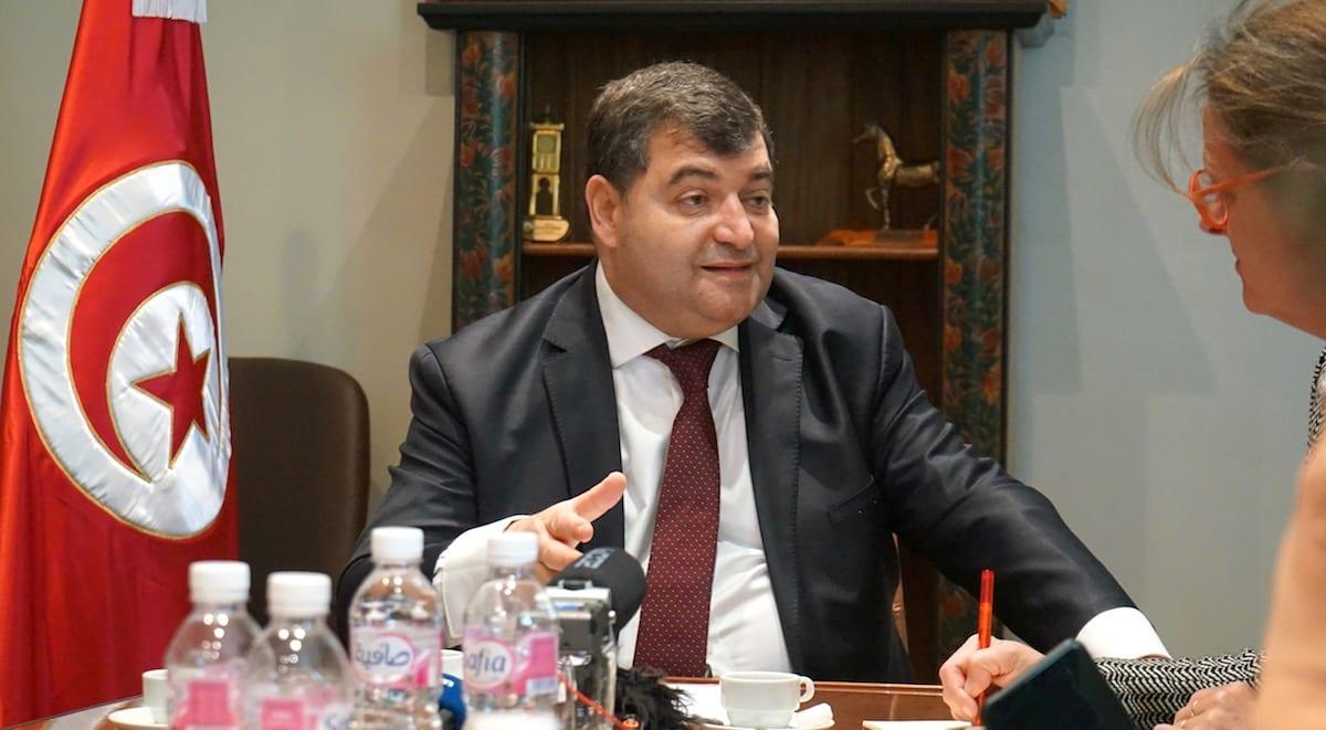René Trabelsi, tunesischer Minister für Tourismus und Kunsthandwerk. Foto: Beate Ziehres
