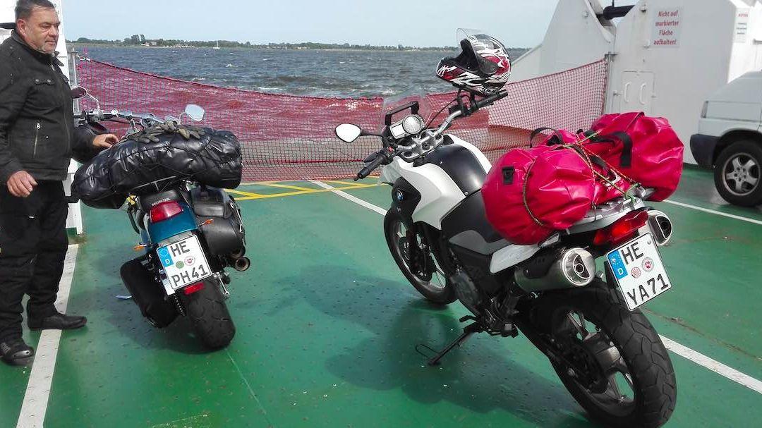 Motorradtour zu den Perlen Mecklenburg-Vorpommerns #1: Rügen
