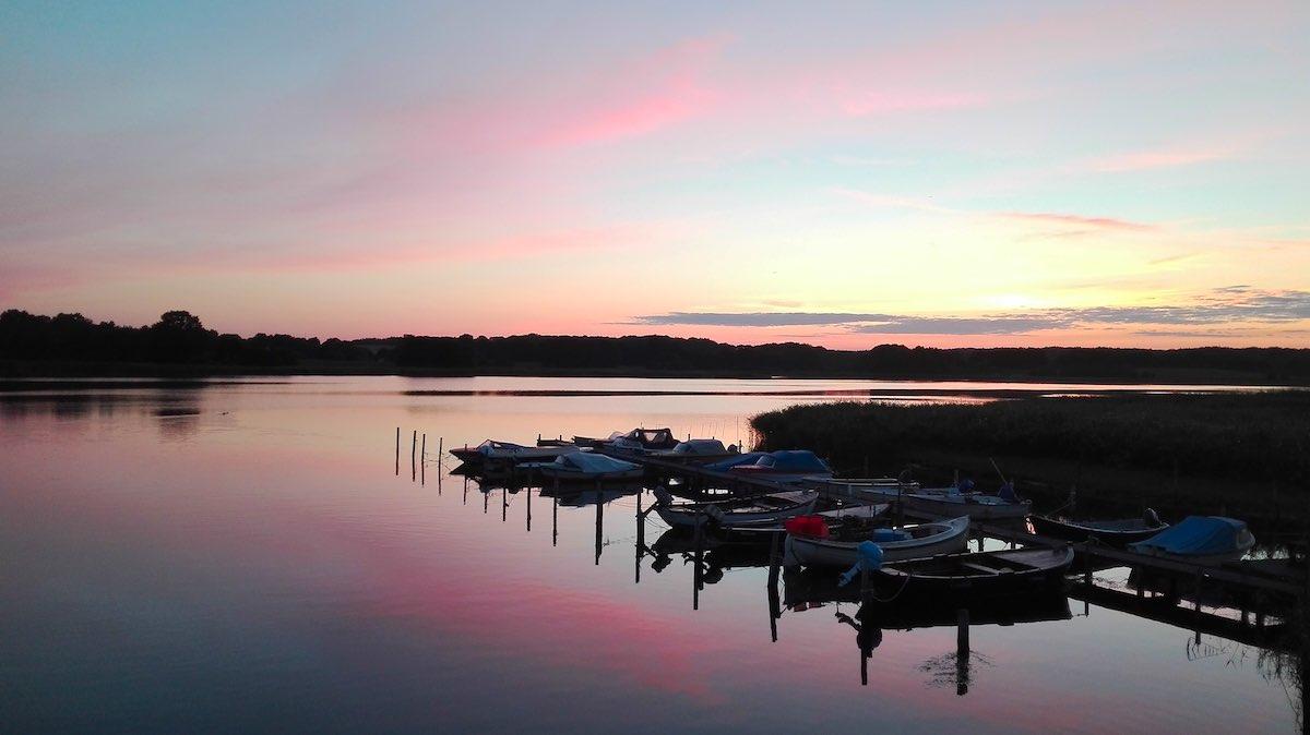 Abendstimmung am Wreechener See – Foto: Beate Ziehres
