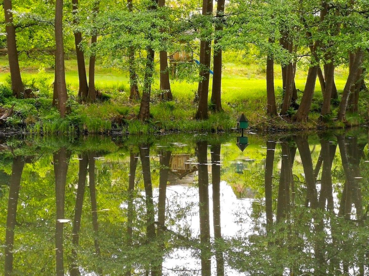 Groß Lindow, Friedrich-Wilhelm-Kanal. Foto: Beate Ziehres