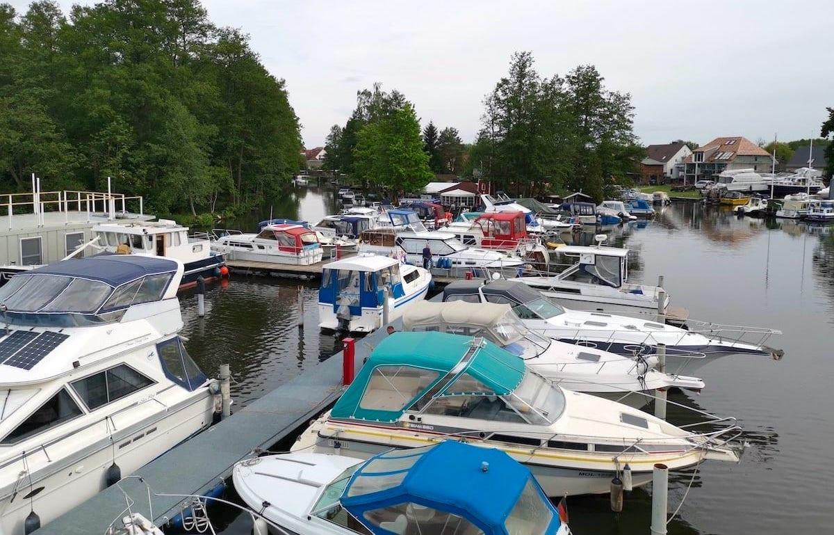 Müllrose Marina, Schlaubetal. Foto: Beate Ziehres