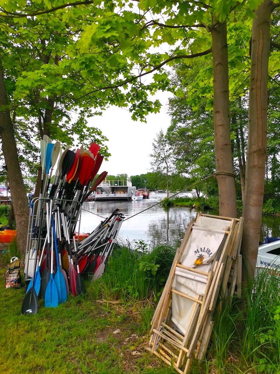 Schiffsherberge Müllrose, Marina Müllrose, Schlaubetal. Foto: Beate Ziehres
