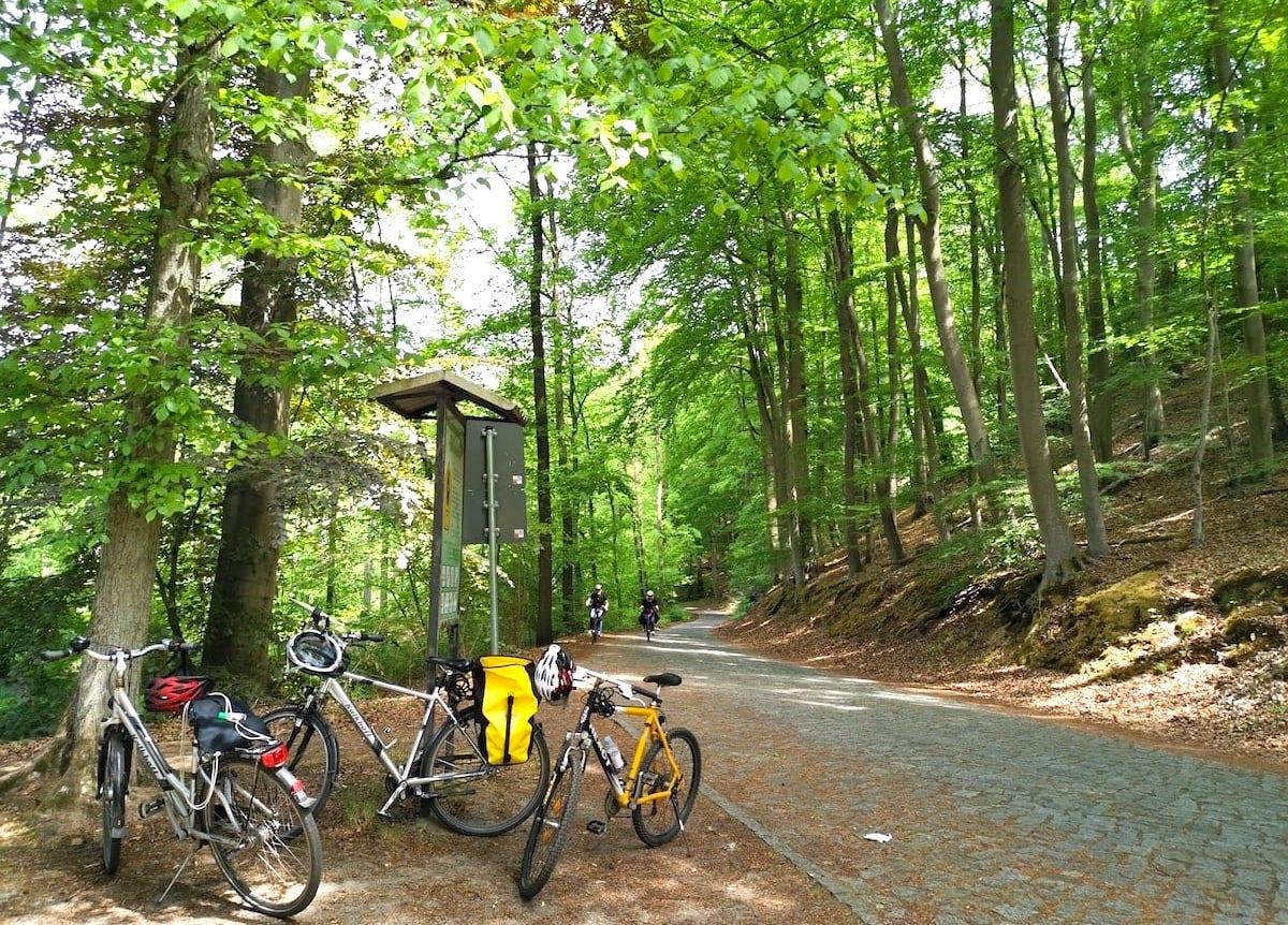 Radtour im Schlaubetal. Foto: Beate Ziehres