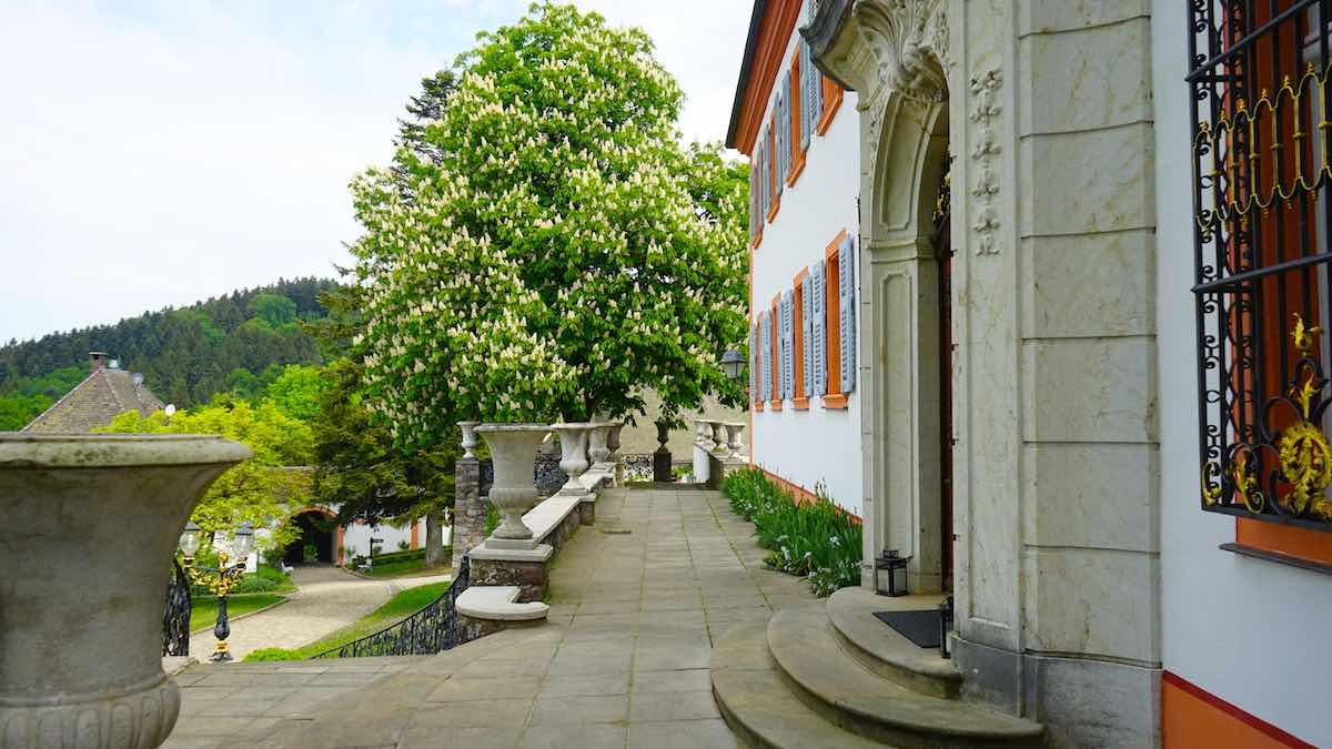 Das Schlossportal – Foto: Beate Ziehres