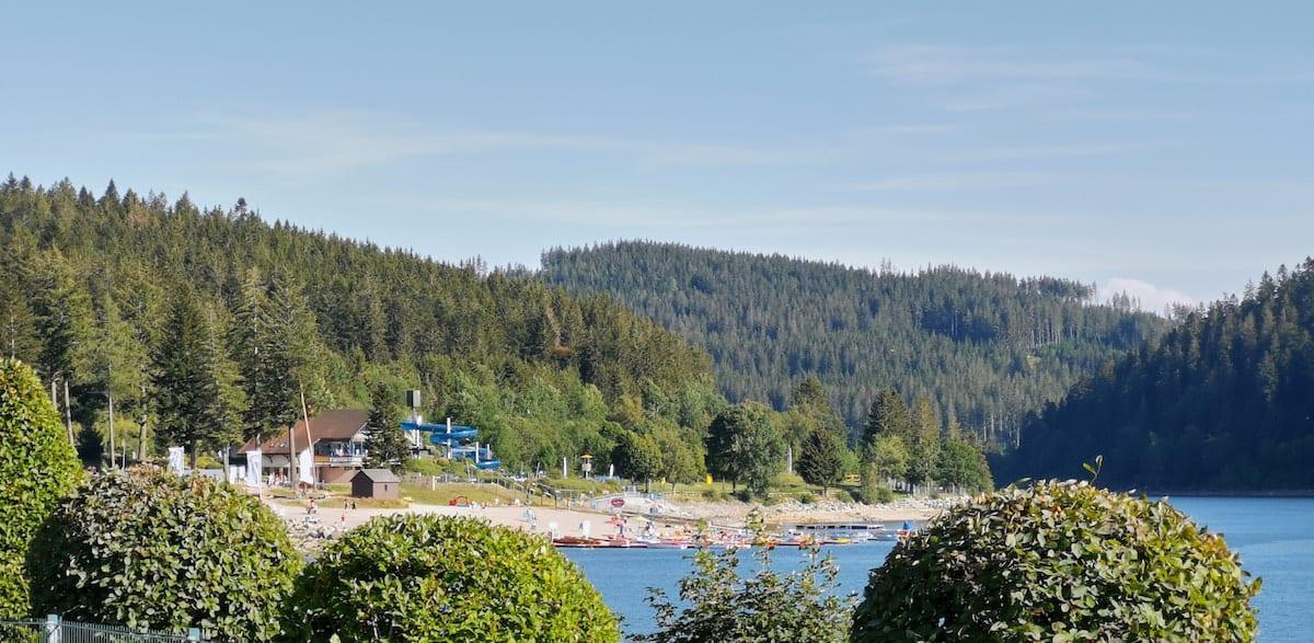 Badeseen im Schwarzwald - Schluchsee, Aquafun. Foto: Beate Ziehres, Reiselust-Mag