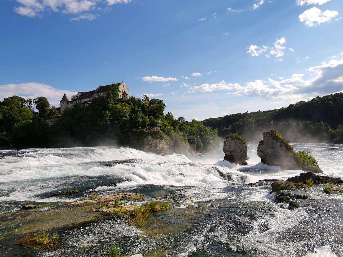 Rheinfall von Schaffhausen. Foto: Beate Ziehres / Reiselust-Mag