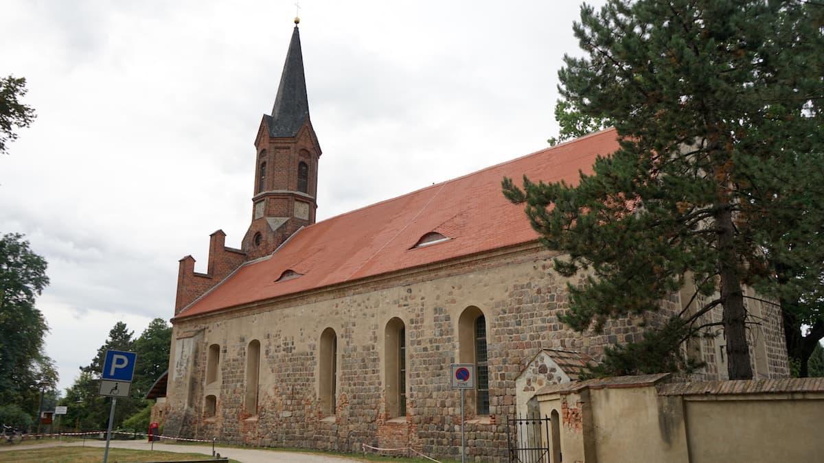 Seenland Oder-Spree, Märkische Schweiz, Altfriedland, Klosterkirche. Foto: Beate Ziehres
