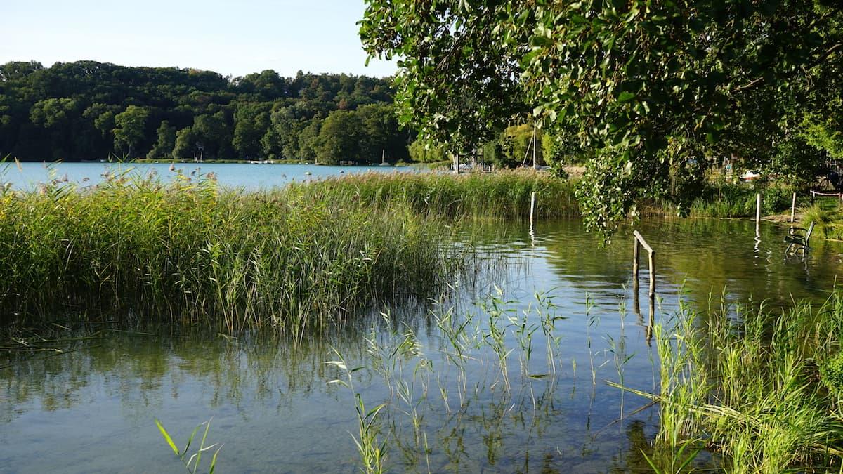 Seenland Oder-Spree, Buckow, Märkische Schweiz, Schermützelsee, Kneippstelle. Foto: Beate Ziehres