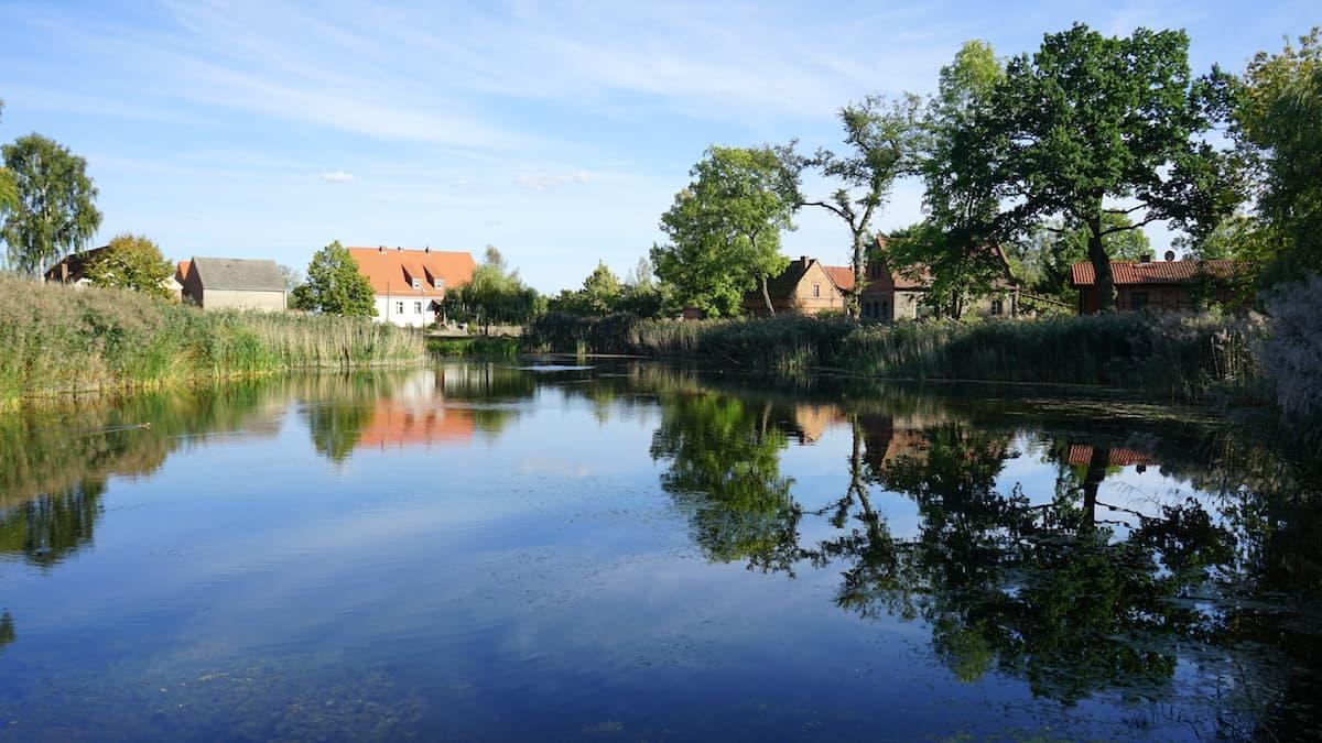 Seenland Oder-Spree, Märkische Schweiz, Ihlow, Dorfteich. Foto: Beate Ziehres