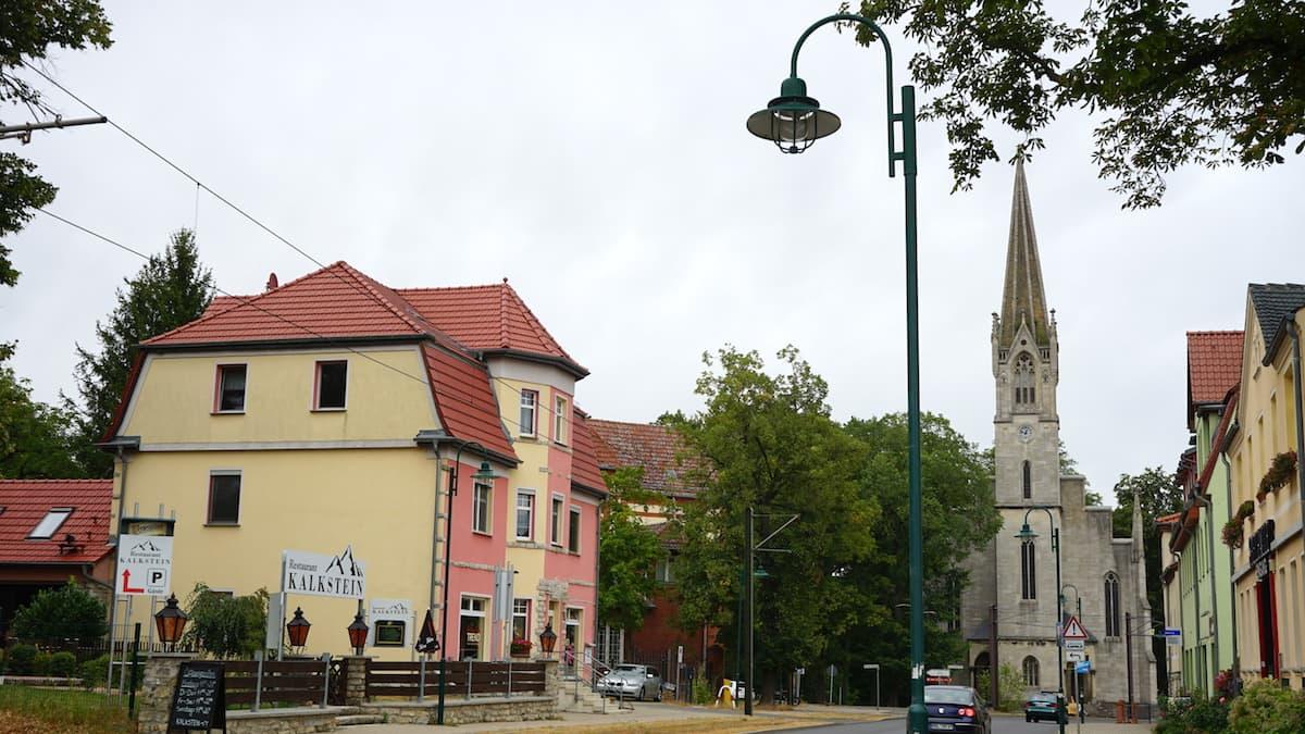 Seenland Oder-Spree, Rüdersdorf Kirche. Foto: Beate Ziehres, Reiselust-Mag