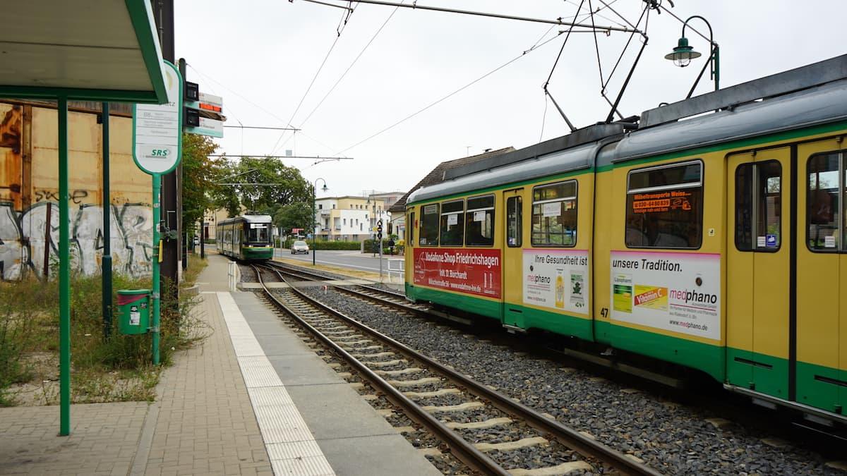 Seenland Oder-Spree, Rüdersdorf, historische Straßenbahn. Foto: Beate Ziehres, Reiselust-Mag