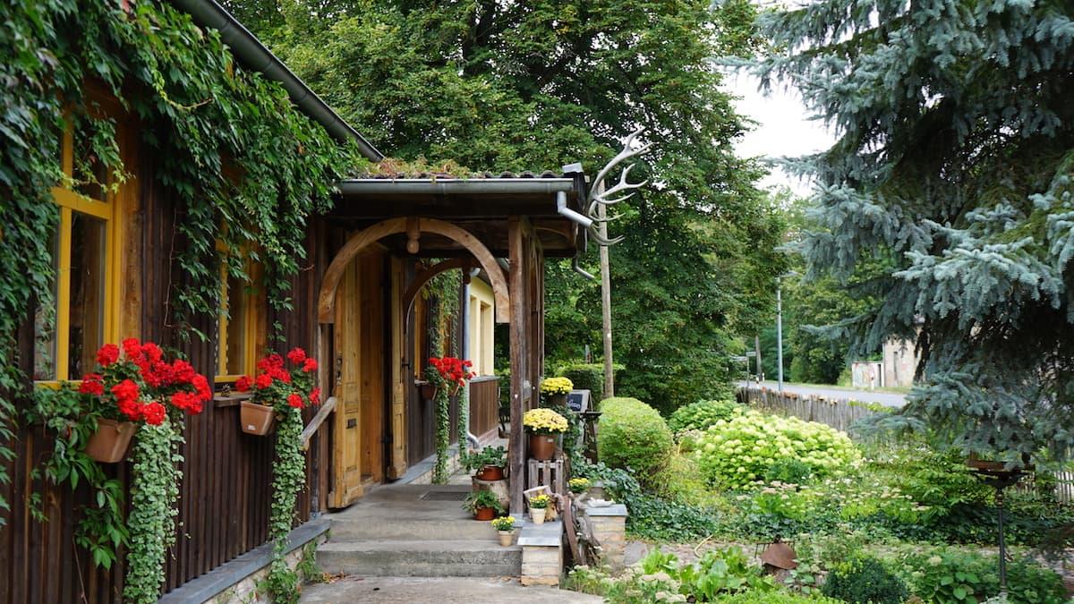 Seenland Oder-Spree, Märkische Schweiz, Waldsieversdorf: Altes Forsthaus. Foto: Beate Ziehres