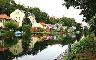 Seenland Oder-Spree, Woltersdorf, Wanderweg am Kanal zum Kalksee. Foto: Beate Ziehres, Reiselust-Mag