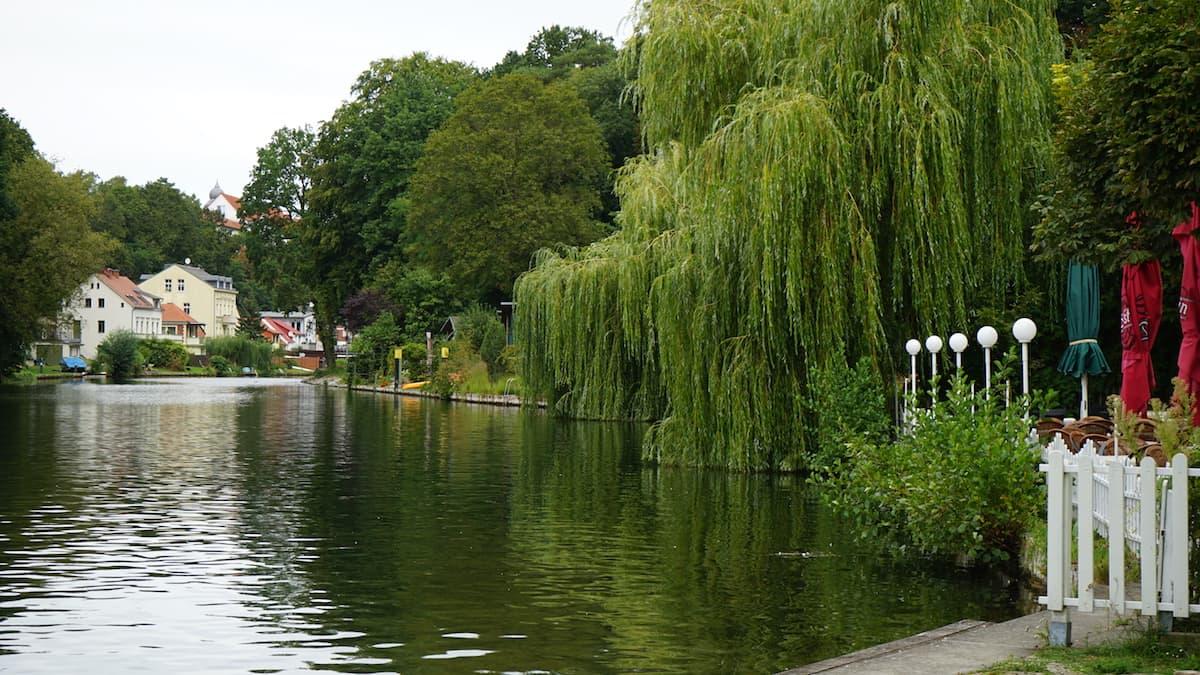 Seenland Oder-Spree, Woltersdorf, Wasserverbindung zwischen Flakensee und Kalksee. Foto: Beate Ziehres, Reiselust-Mag