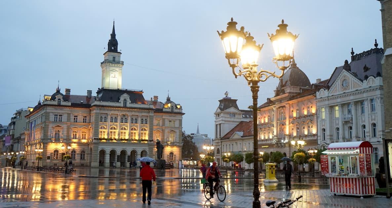 Serbien, Novi Sad, Freiheitsplatz. Foto: Beate Ziehres