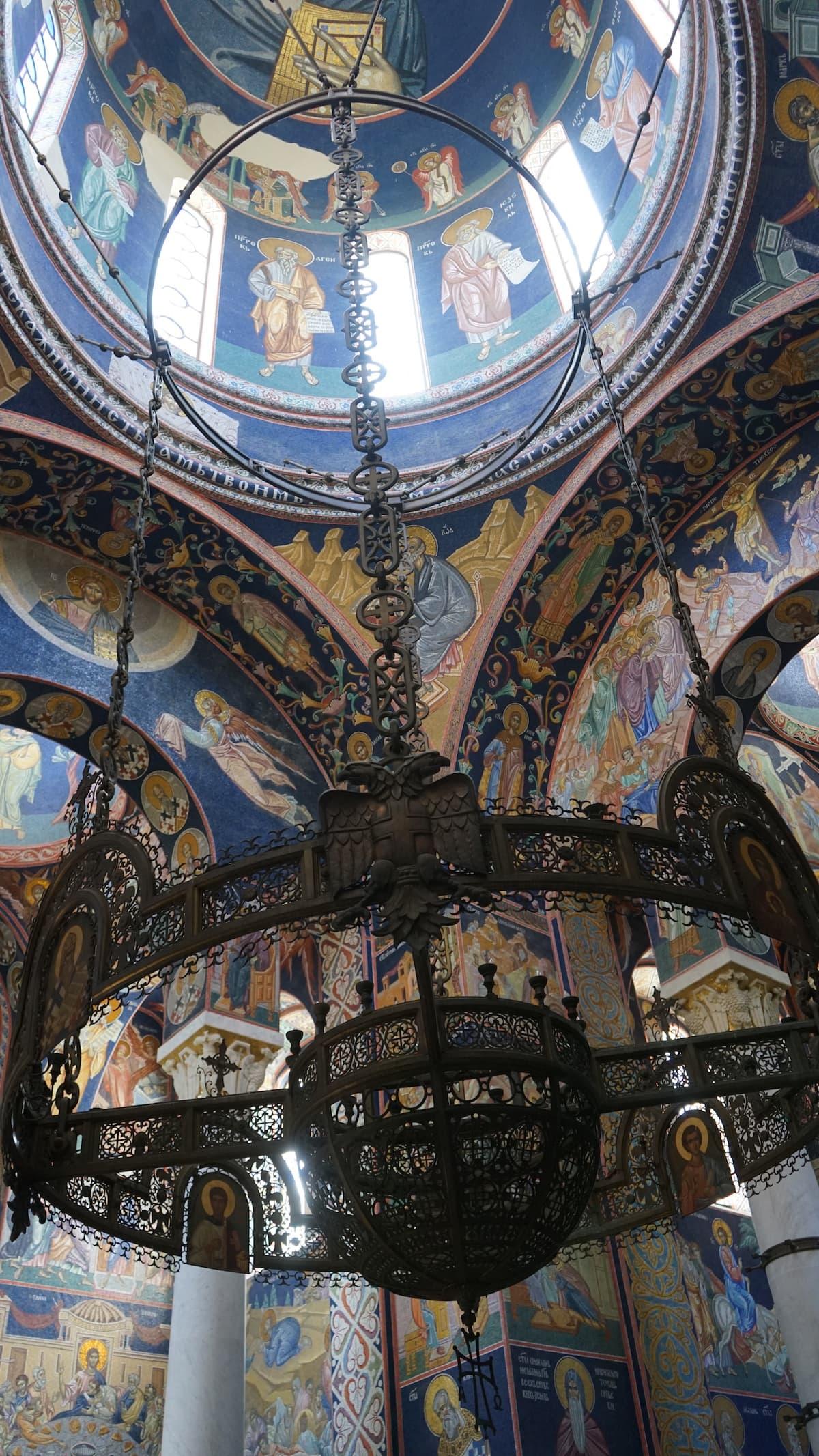 Serbien, Sehenswürdigkeiten: Kirche St. Georg auf dem Oplenac in Topola. Foto: Beate Ziehres